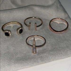 Ring Set, (4 pack!)